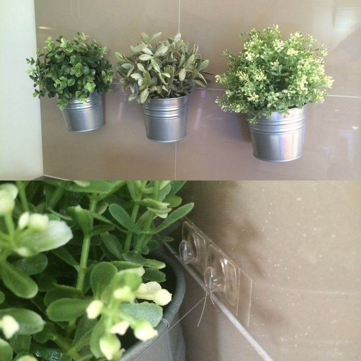 my friend creates these hanging pants using ikea artificial plants and tin pots she tied. Black Bedroom Furniture Sets. Home Design Ideas