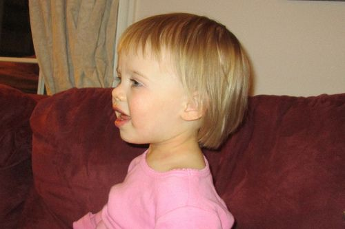 toddler girl haircuts for fine hair. If my daughter is anything like me, I'm going to need this.