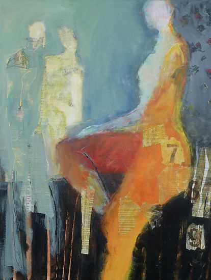 Cheryl Waale abstract figure