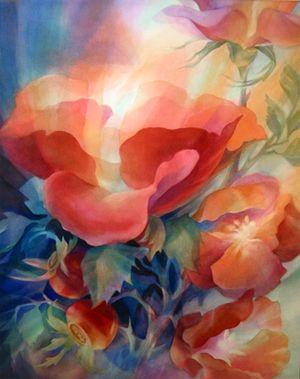 Barbara Bancroft   Waldorf style watercolor