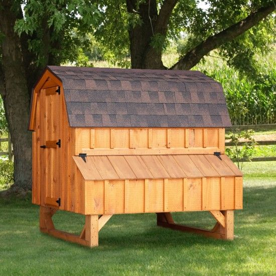 73 Best Amish Chicken Coops Images On Pinterest