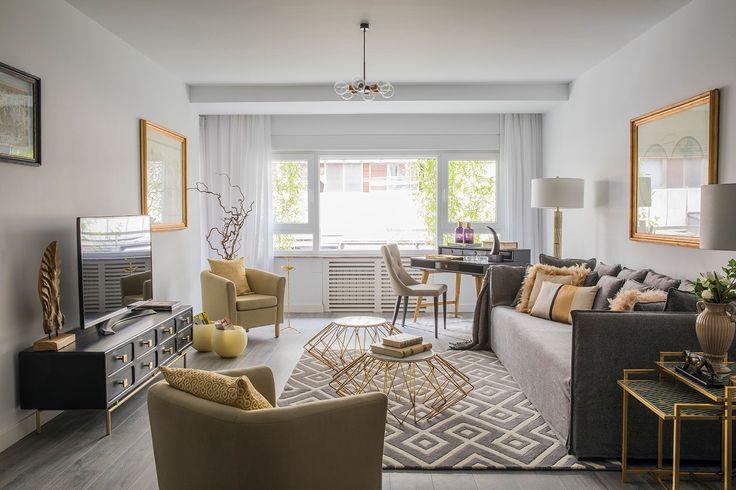 Un salón-comedor de generosas dimensiones permite reuniones familiares de gran número de personas, como debe corresponder a una vivienda de 4 dormitorios, preparada para alojar a 7 personas.