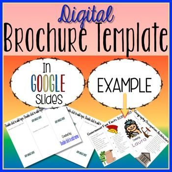 how to make a brochure on google slides