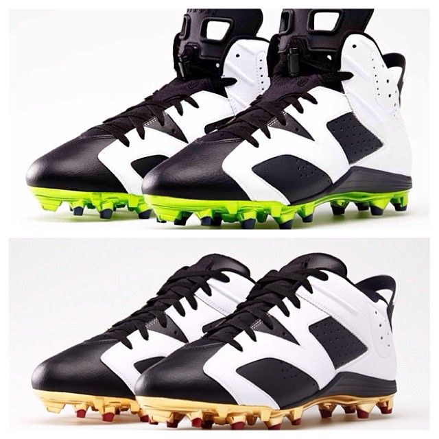 e0ccc637a51 ... best price sale 2019 cd31d 98943 air jordan vi cleats for michael  crabtree earl thomas nike