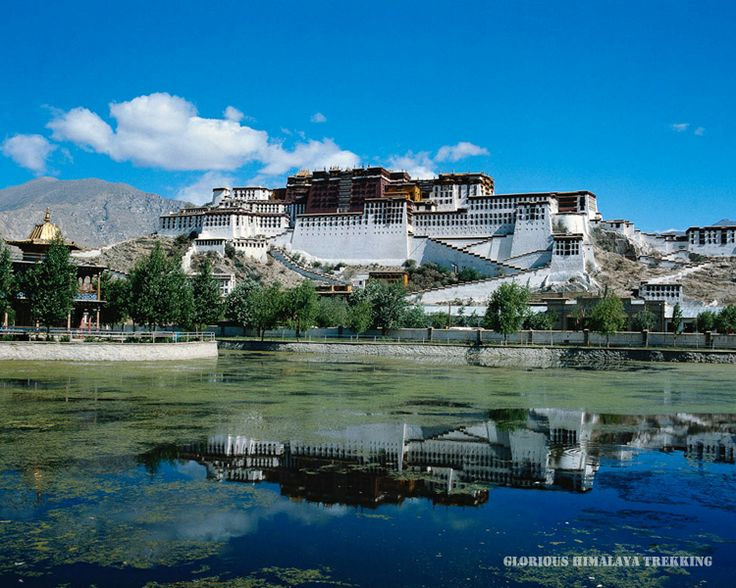 Potala palace - Home of Dalai Lama's