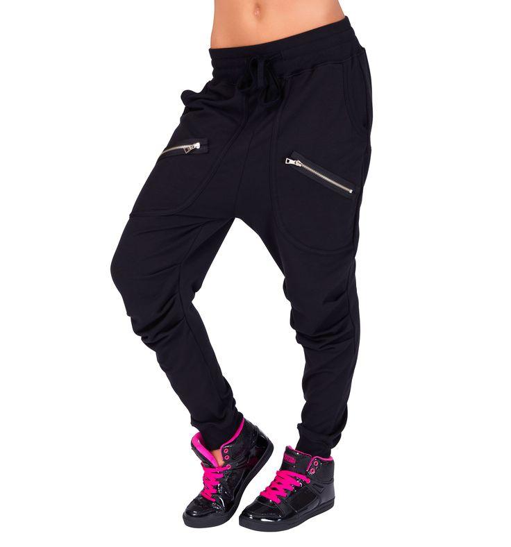Adult Multi Zipper Harem Pant - Style Number: 81512