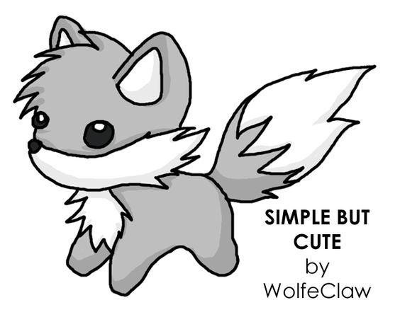 Wolf drawings, Simple drawings and Drawings on Pinterest