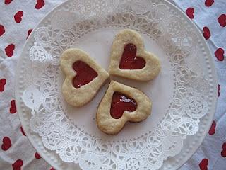 Heart Shortbread cookies
