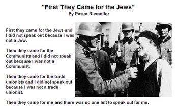 First they came for the jews and I was silent | first+they+came+for+the+jews.png