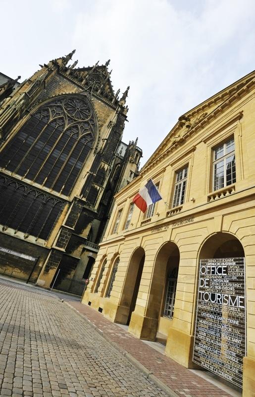 L'extérieur © Philippe Gisselbrecht / Office de Tourisme de Metz