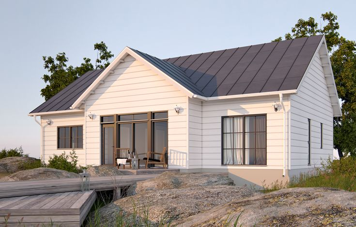 Lounatuuli edustaa New England -tyyppistä arkkitehtuuria, joka vie ajatukset merelle ja rannalle, vaikka kotisi olisi keskellä kaupunkia. Talon muoto on klassinen, mutta selkeä ikkunajako ja arkkitehtuurin yksityiskohdat tekevät siitä modernin. Ikkunaristikot, ulkoväritys ja sisustustyyli muokkaavat tästä kodista mieleisesi.  Lue lisää arkkitehtuurista »