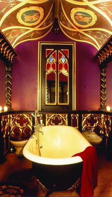 Die besten 25+ Gotik badezimmer Ideen auf Pinterest Schädeldekor - einzimmerwohnung einrichten interieur gothic kultur
