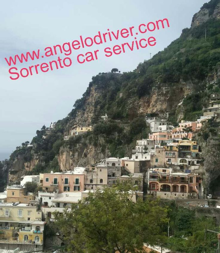 Positano taxi drivers