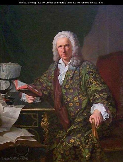 Portrait de Marc de Villiers - Jacques-André-Joseph Aved (I think he's wearing a beautiful banyan?)