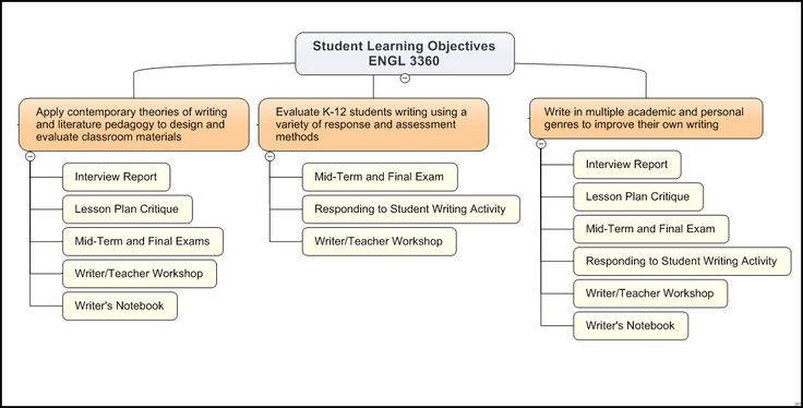 Graphic Display of Student Learning Objectives