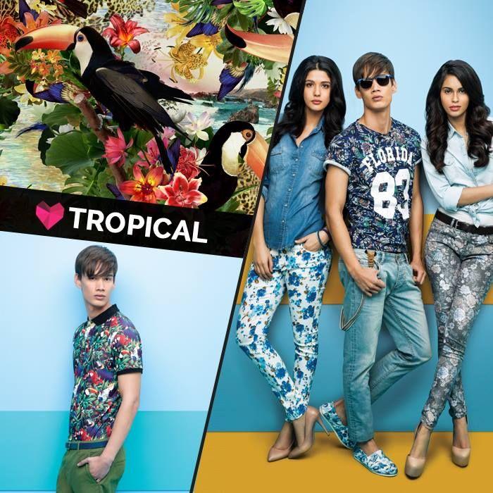 #tropical #moodboard