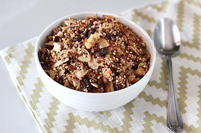 Maple Cinnamon Crunch Quinoa Granola - Gluten-free + Vegan by Tasty Yummies