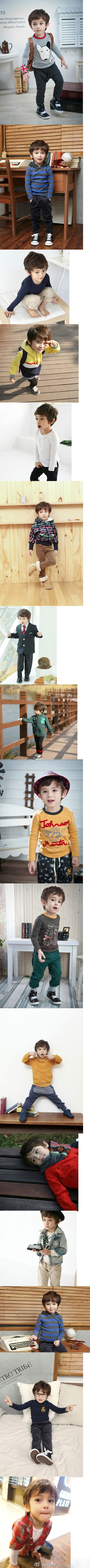 Half Korean, half American baby boy... Maybe this is super creepy...but this is so going to be my son. Adore.