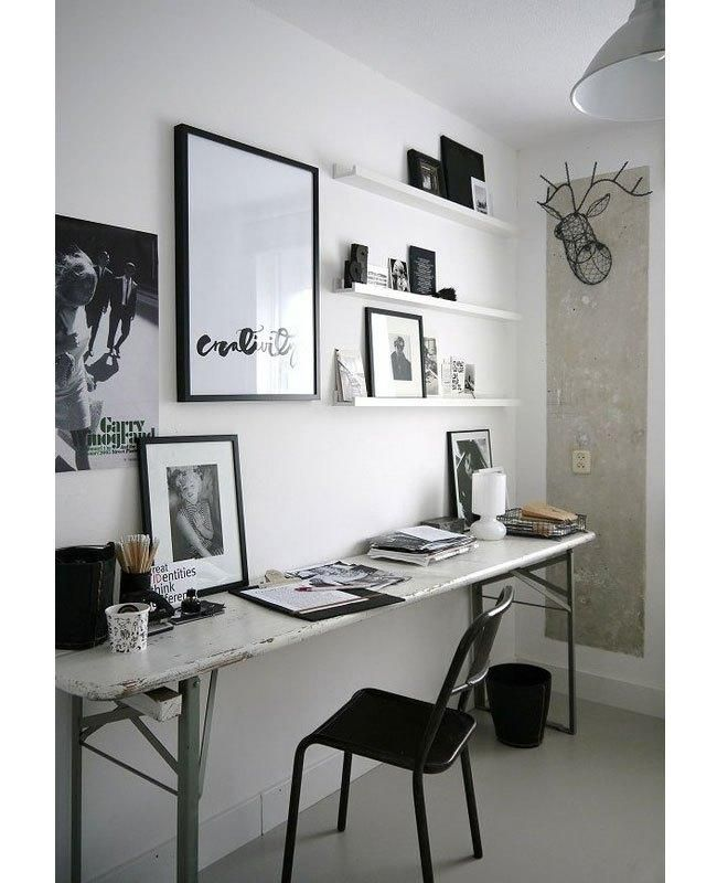chic work space / Habitually Chic