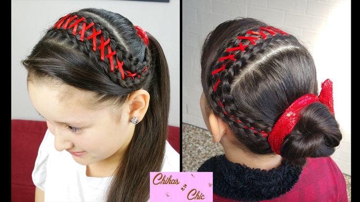 Diadema en Trenza Corset! - Corset Braid Headband!   Peinados Faciles   ...