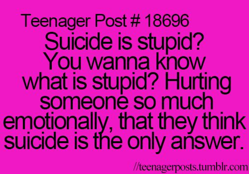 Don't do suicide, if you die, then your just putting in on someone else (the bullies WILL start over)