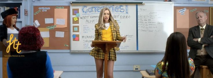 There's nothing like Clueless to inspire the plaid skirt again. These teenage girls know more shopping sprees than most adults.