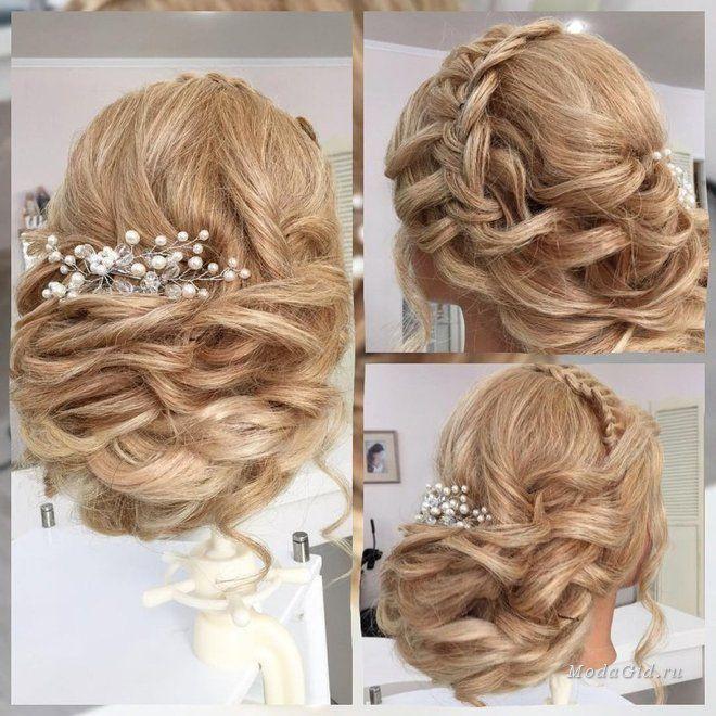 Модные прически: Праздничные причёски на средние и длинные волосы своими руками: фото и видео