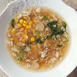 Zupa chińska z kukurydzą i kurczakiem | Kwestia Smaku