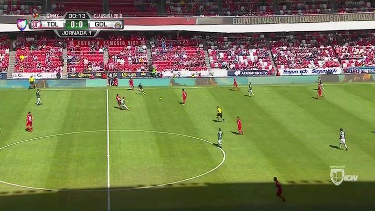 goals Liga MX - Toluca vs. Chivas Guadalajara - 07/01/2018 Full Match link http://www.fblgs.com/2018/01/goals-liga-mx-toluca-vs-chivas.html