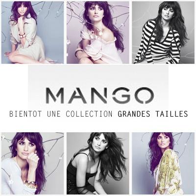 Bientôt une ligne de vêtements grande taille chez Mango?