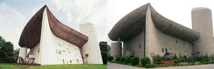The Ronchamp Chapel, France – Zhengzhou, China: Imitation is the most sincere form of flattery, or so the saying goes. But is directly replicating something a real form of artistic expression?
