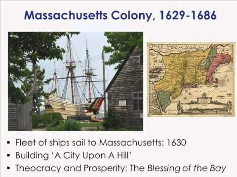 jamestown and massachusetts bay To take an indepth exploration of three colonies - jamestown in the south,  we  can't talk about the massachusetts bay colony without first discussing.
