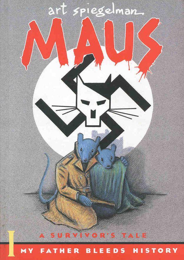 Maus, de Art Spiegelman. | 13 Novelas gráficas que te harán llorar