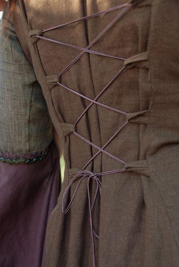 Les elfes bois costume elfique robe robe par DressArtMystery