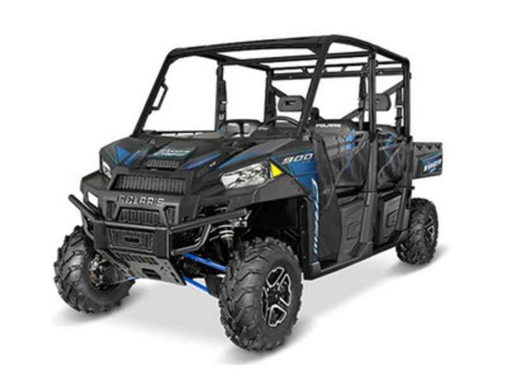 New 2016 Polaris RANGER Crew XP 900-6 EPS Titanium Matte ATVs For Sale in North Carolina. 2016 Polaris RANGER Crew XP 900-6 EPS Titanium Matte Metallic, 2016 Polaris® RANGER Crew® XP 900-6 EPS Titanium Matte Metallic Features may include: Hardest Working Features The ProStar® Engine Advantage The RANGER CREW® 900 ProStar® engine is purpose built, tuned and designed alongside the vehicle resulting in an optimal balance of smooth and reliable power. The ProStar® 900 engine was developed…