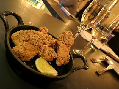 Yoshi's Fried Chicken at Terroir Tribeca #nyc
