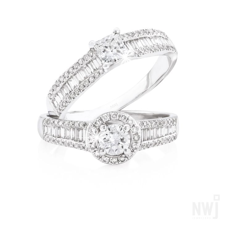 Diamond Collection: 18ct Diamond Rings By NWJ *Valid for 2013