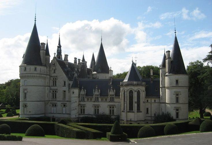 Chateau du Nozet. Nièvre. Bourgogne