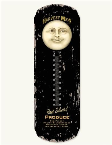 HARVEST MOON THERMOMETER - $11.95 - Victorian Trading Co. - http://www.victoriantradingco.com/item/50-ha-5011598/107100/harvest-moon-thermometer