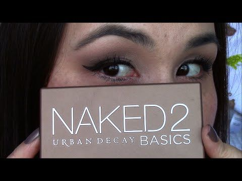 Urban Decay Naked 2 Basics Tutorial - YouTube