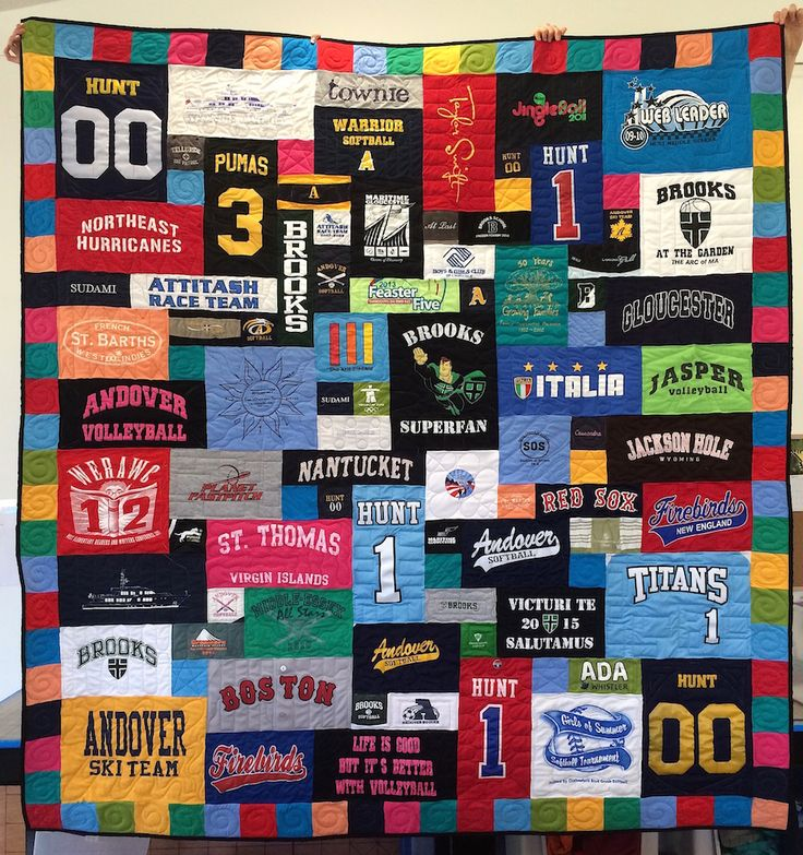 17 Best Images About T Shirt Quilts With Border On