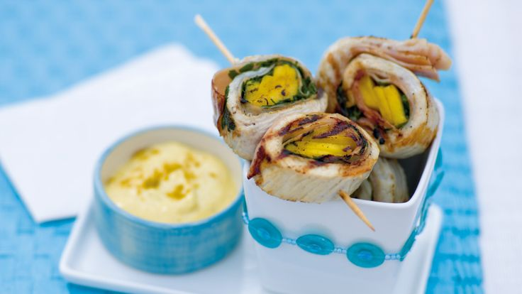 Grillowane ślimaki z indyka. Kuchnia Lidla - Lidl Polska. #lidl #indyk #grill