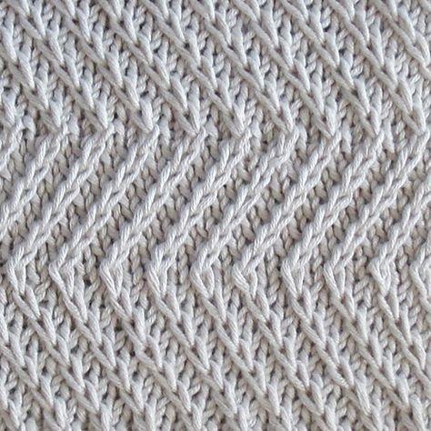 Ravelry: Twist Zig Zag pattern by Bich Lan   Slip stitch ...