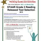 Problem Solution Narrative This classroom tested product includes the complete analysis for the STAAR released test selection: M.D. = A Moody Day. ...