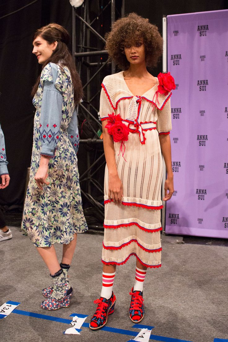 Anna Sui | Spring 2017 Backstage – The Impression