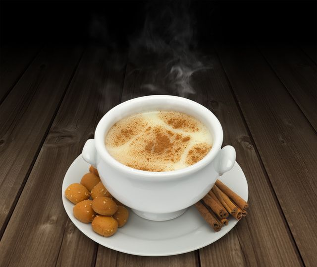 'Salep' is a hot Turkish beverage that's flavored with cinnamon and thickened with flour made from the roots of wild orchids. Try a steaming mug of 'salep' instead of hot chocolate.