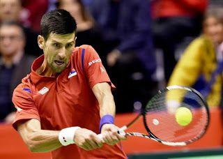 Blog Esportivo do Suíço: Djokovic luta por 5 sets e mantém a Sérvia viva na Copa Davis