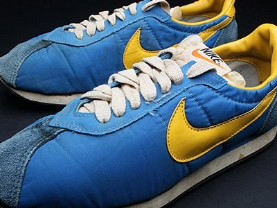 I know it's crazy but, I SO wanted these Nike waffle trainers when I was a kid. Same color too!