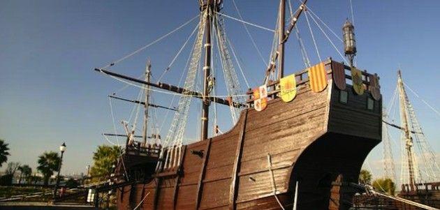La época de Colón en el Muelle de las Carabelas (Huelva)