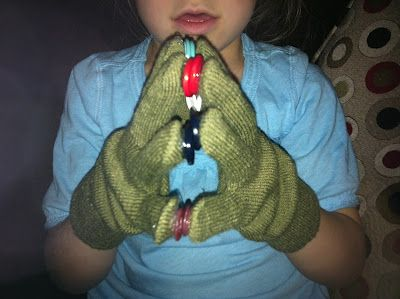 Button Gloves -  Pinned by @PediaStaff – Please Visit ht.ly/63sNt for all our pediatric therapy pins
